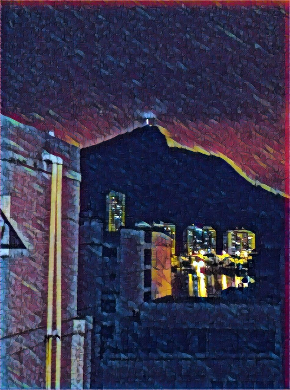 The Secret Spaces Building Exterior Illuminated Night Outdoors My City Is Beautiful Iphoneart For My Friends That Connect IPhoneography