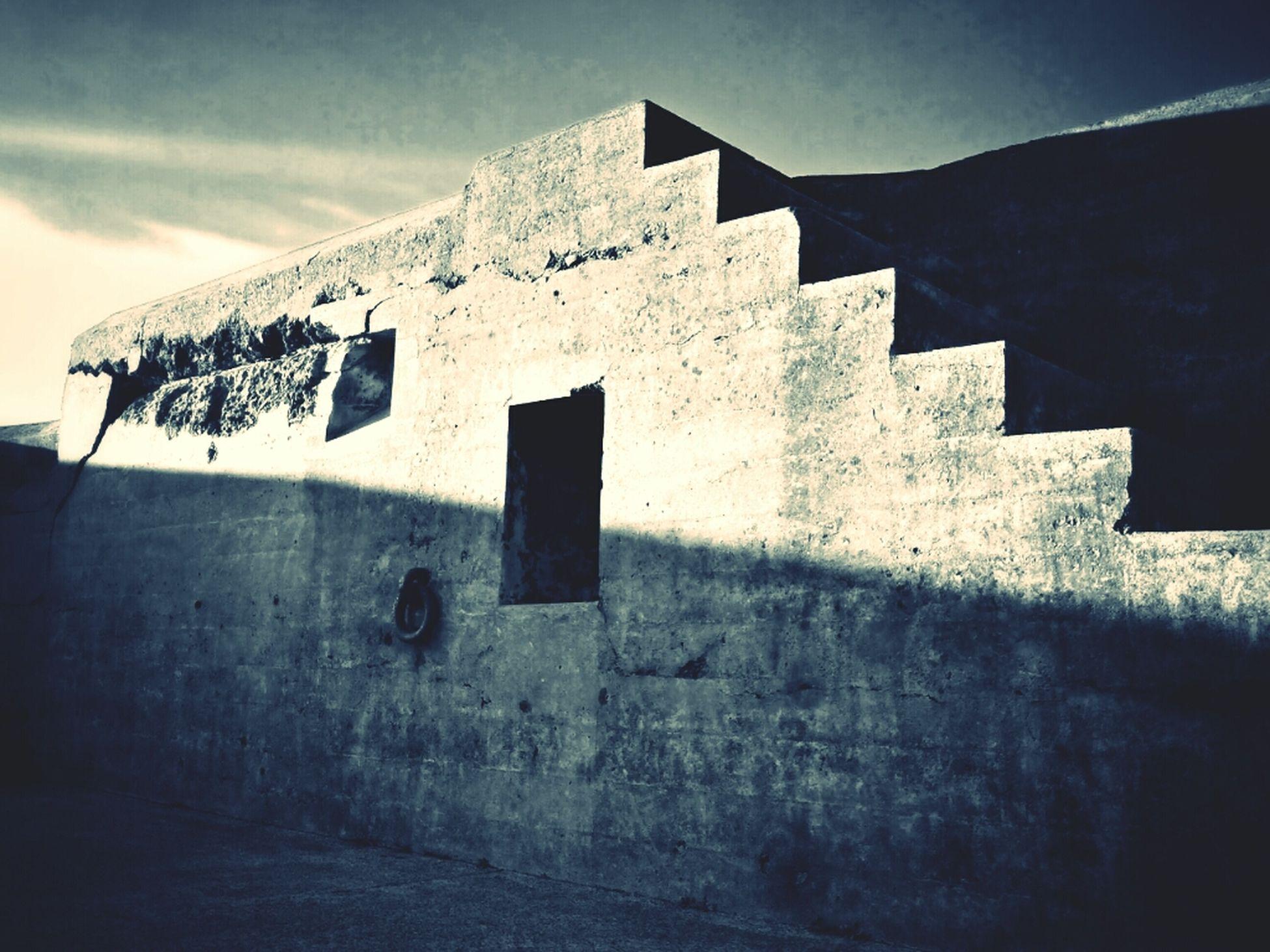 Jan 18: shadow Blackandwhite Black And White Stairs Shadow Concrete Monochrome Eye4photography  Fmsphotoaday