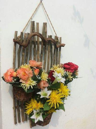 Wall hanging flower basket Wall Art Decorations