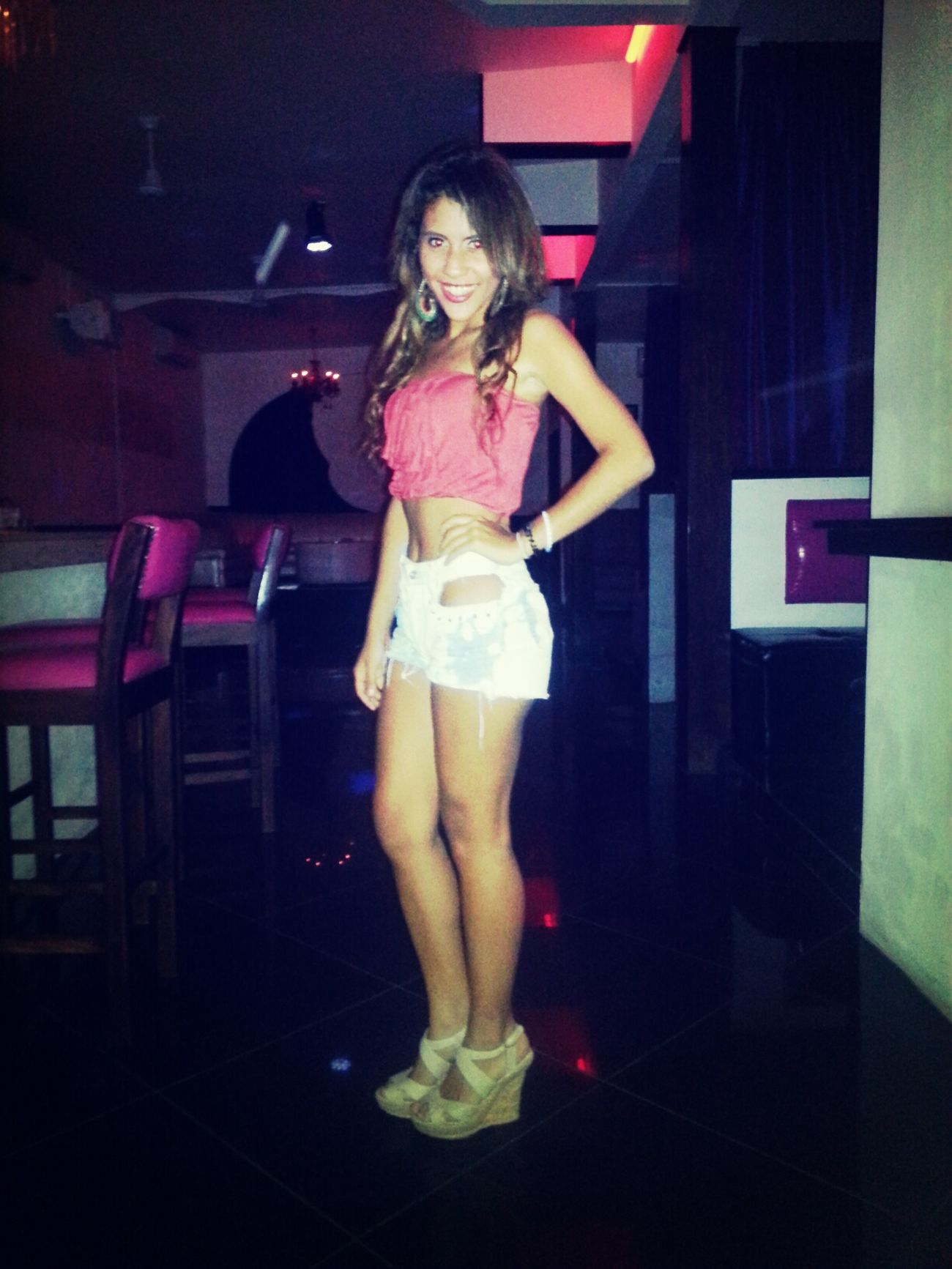 Taking Photos Smiles Clubbing (: Curlyhair