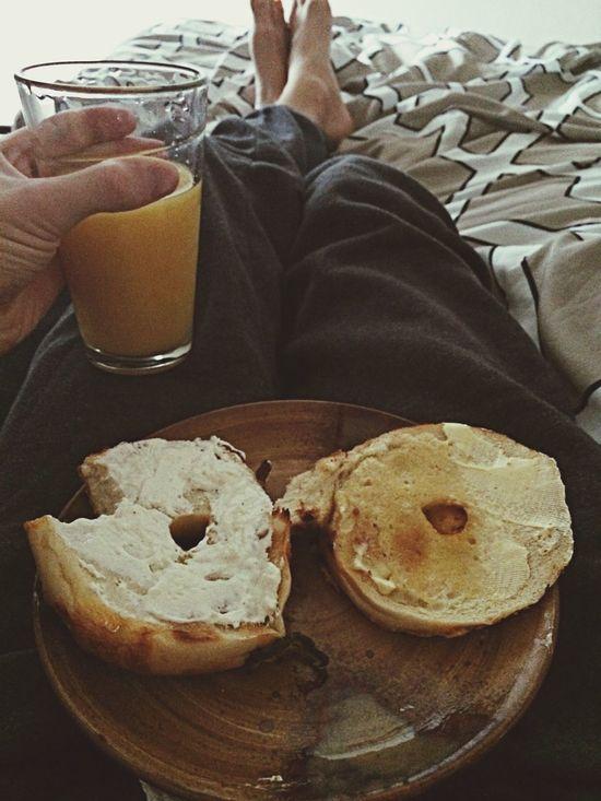 Breakfast Bed Me & Bae
