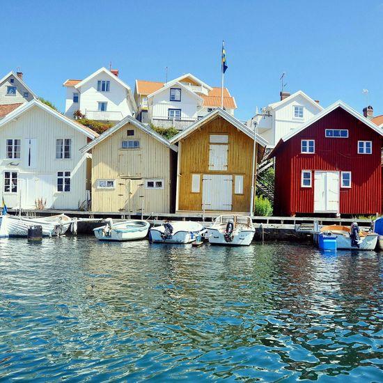 Boathouses Ocean Cute Tiny