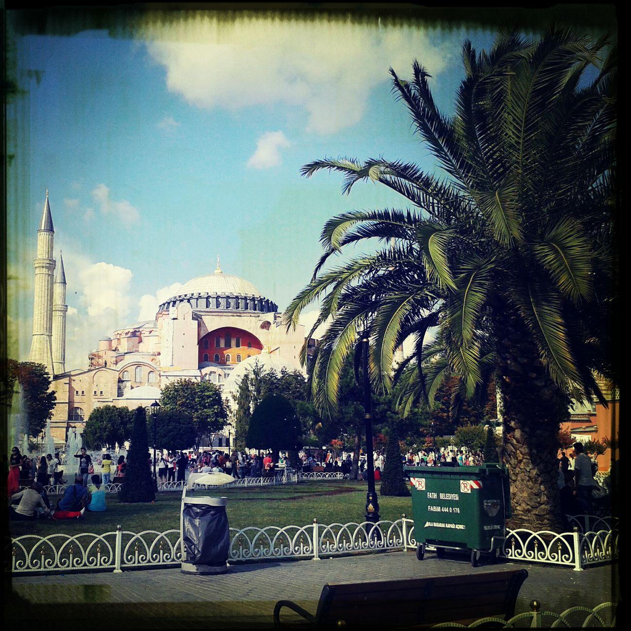 ıstanbul, Turkey Ayasofyamüzesi Summer ☀ 2014