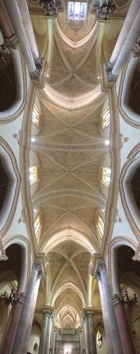 Chiesa Sicilia Erice Soffitto Arte Architettura Art