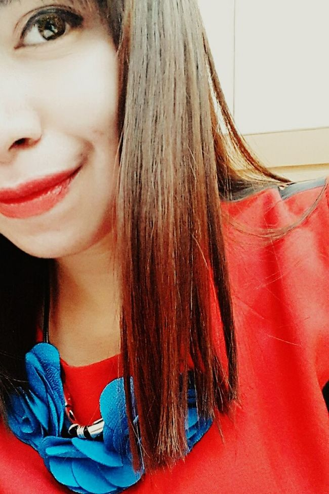 Half my face 👱 Hello World Myface Half Face That's Me Loveit EyeEm Loveofmylife Big Eyes Red Lips INDONESIA