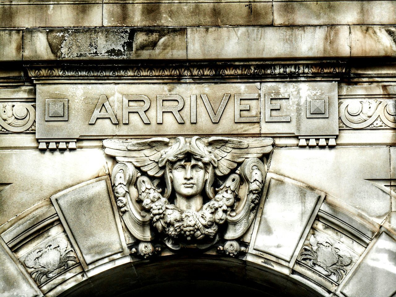 Text Art And Craft Carving - Craft Product Human Representation History No People Sculpture Built Structure Bas Relief Architecture Day Ancient Civilization Close-up Outdoors Monochrome Eyeem Architecture Lover