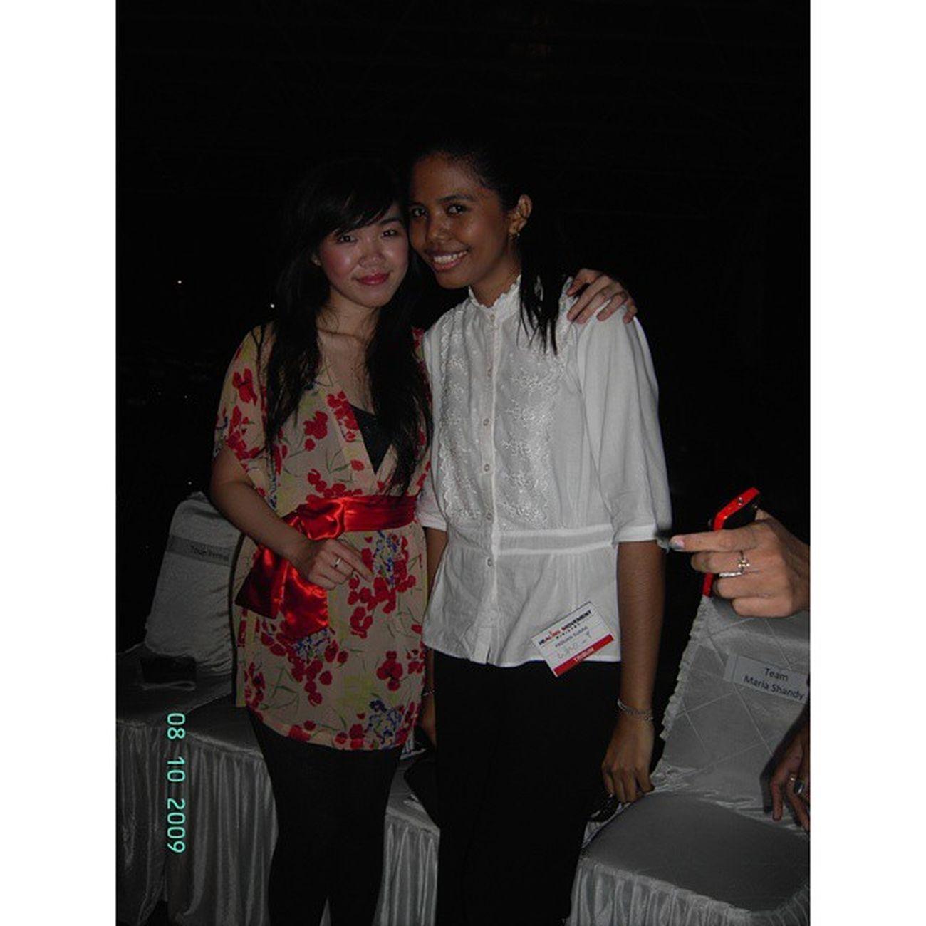 Latergram Gospel Singers Healingmovement Ministry Karebosi Makassar 2009 Baru nyadar pernah pelayanan bareng @mariashandi...🎼😇