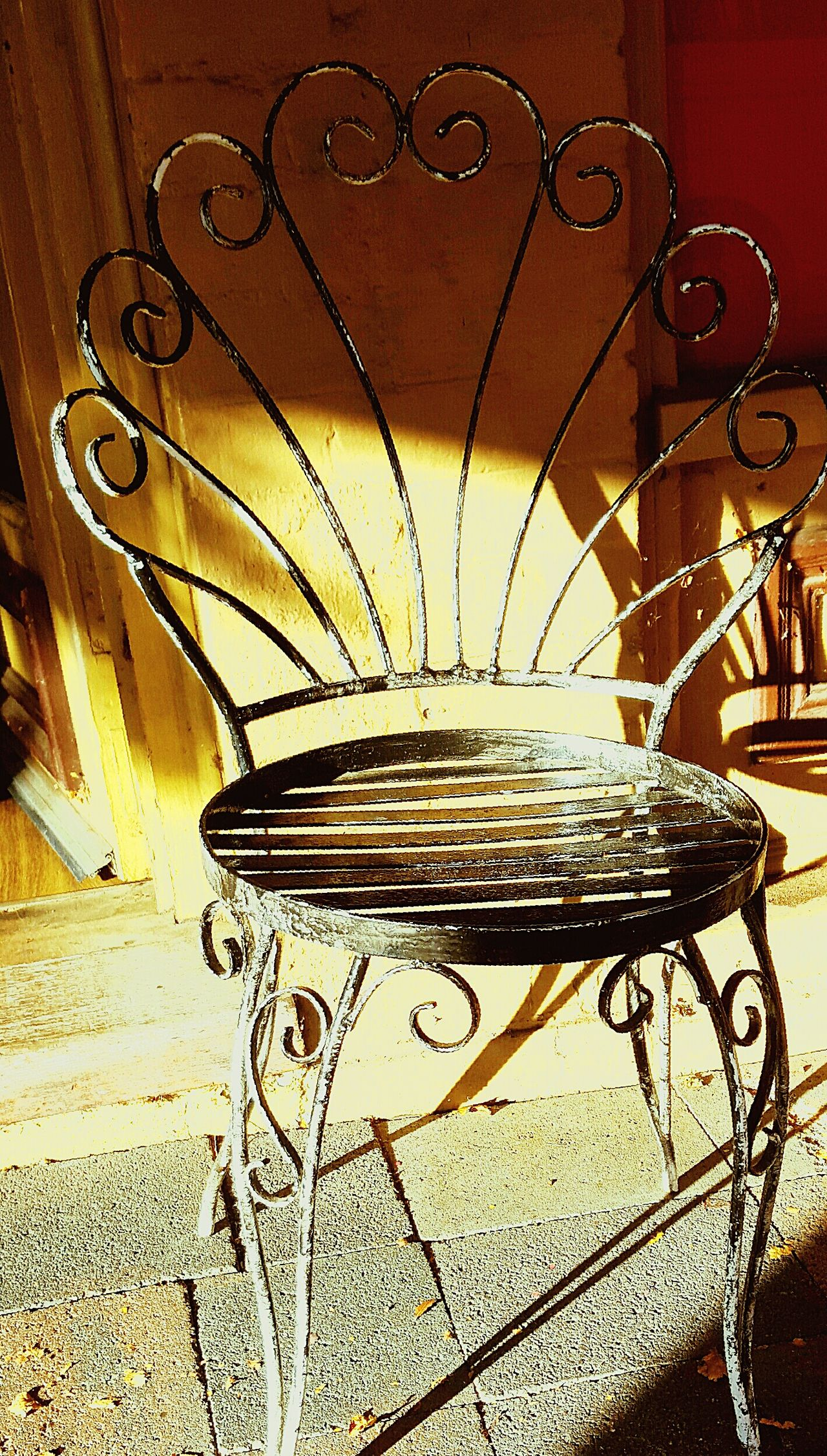 French Iron chair .. French Iron Chair One Chair