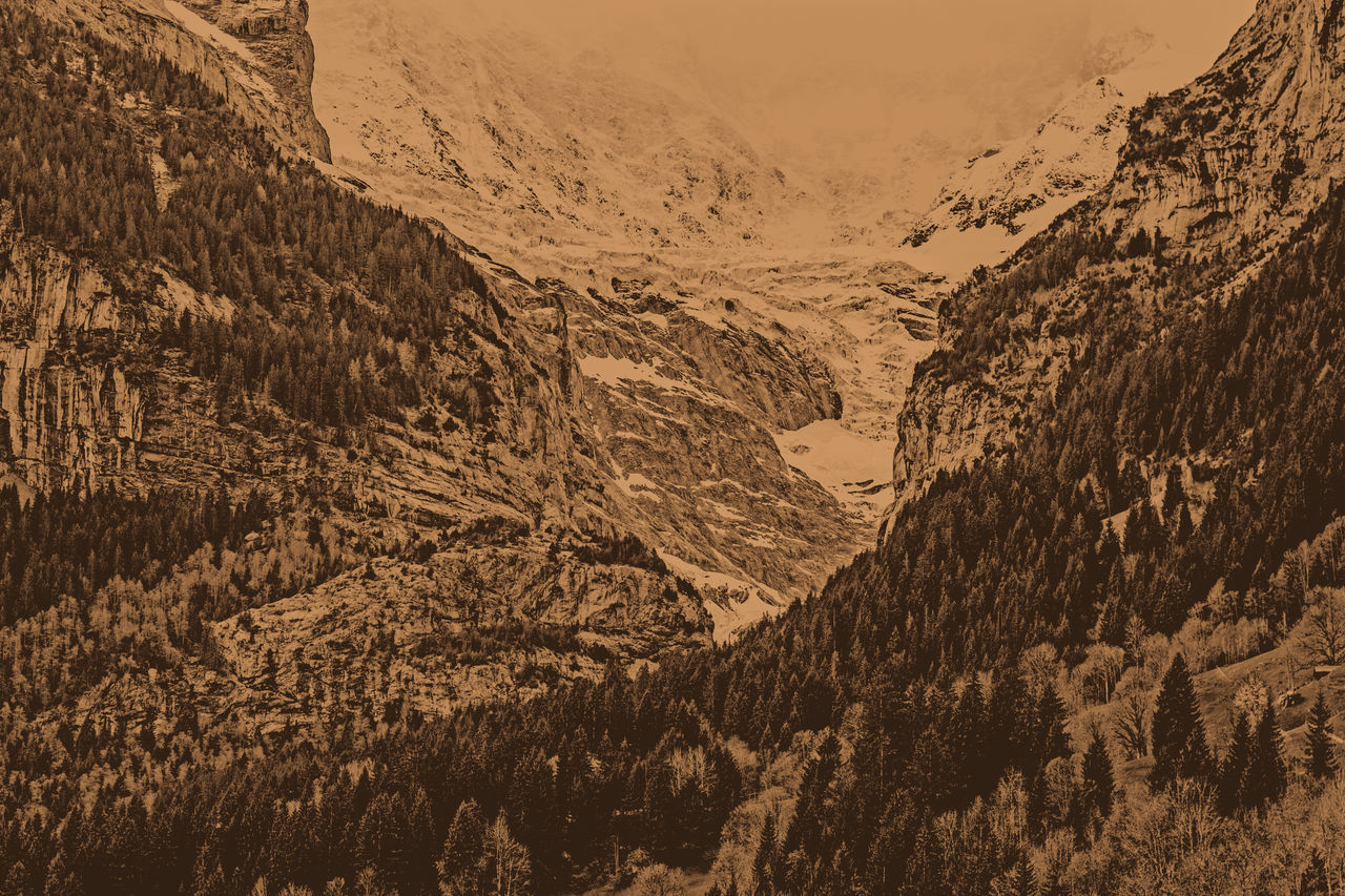 Grindelwald alps Grindelwald Switzerland Mountains Mountain Rocks Nature Alps Alp Brown Sepia_collection Sepia Quiet Calm