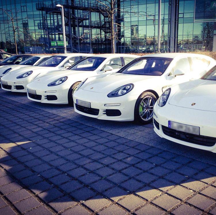 Porsche Invasion at the VolkswagenArena Wolfsburg