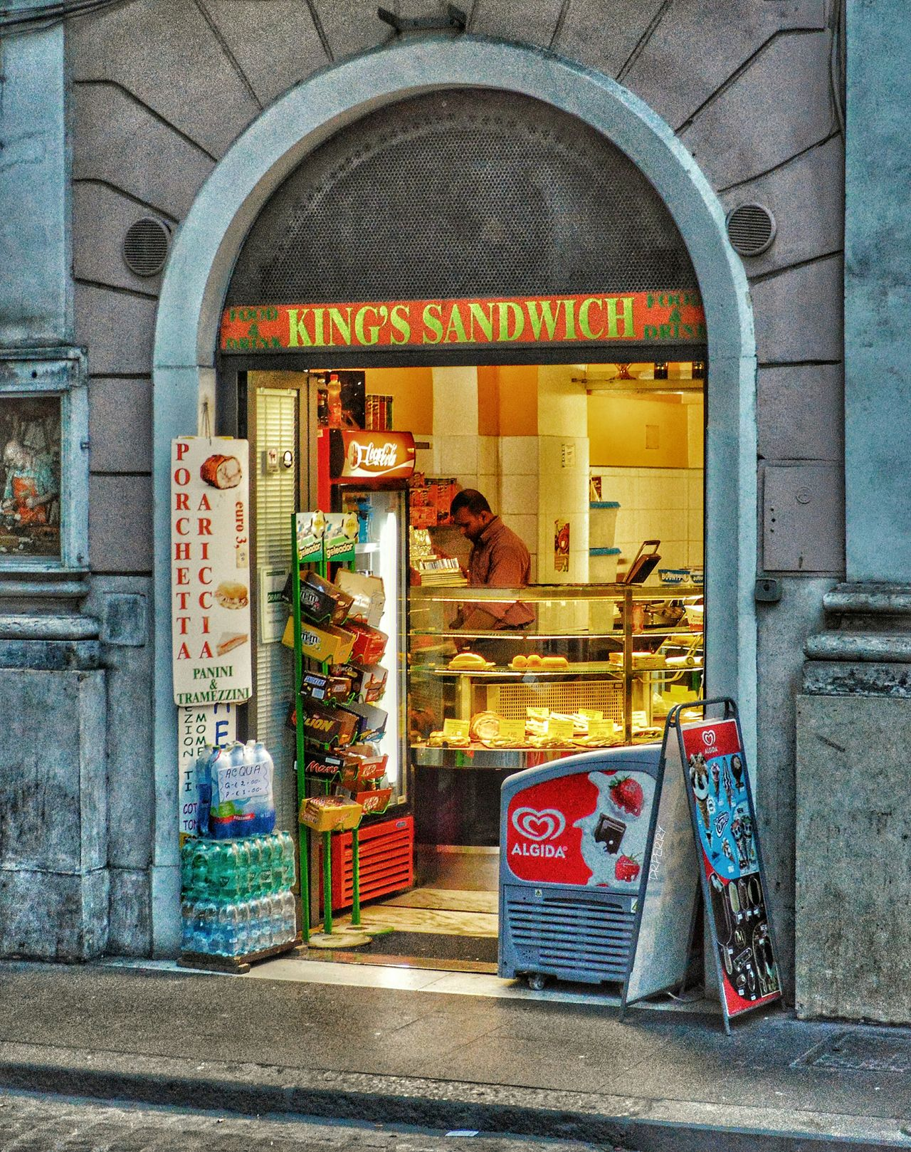 """Great Kabobs!"" - Roma Rome Roma Photobydperry Door Built Structure Architecture Arch Street Streetphotography People Street Photography Sandwich Sandwich Shop Kabobs Kabob Italy Italia"