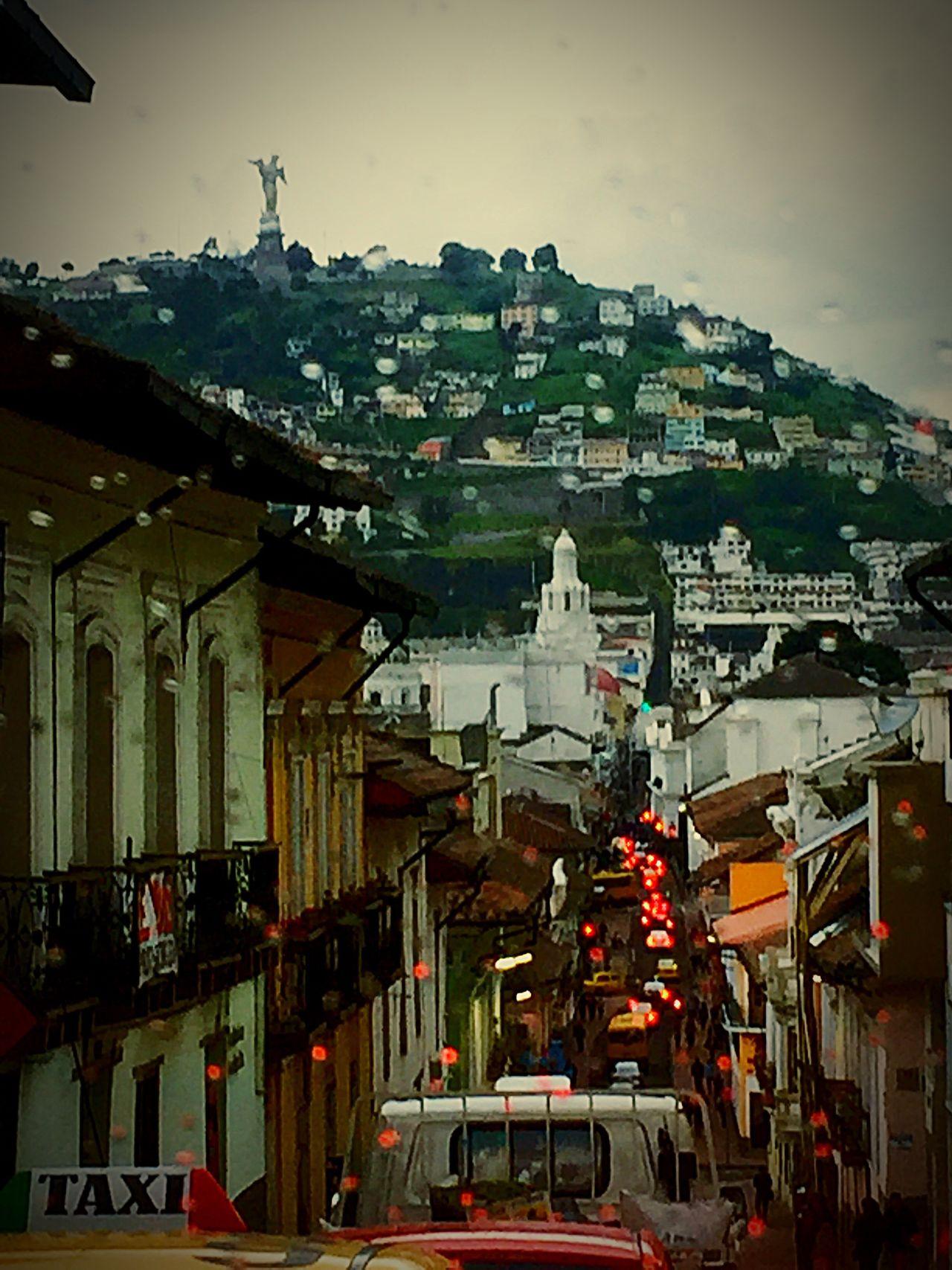 Tarde de lluvia Car Street City City Life Quito Ecuador First Eyeem Photo