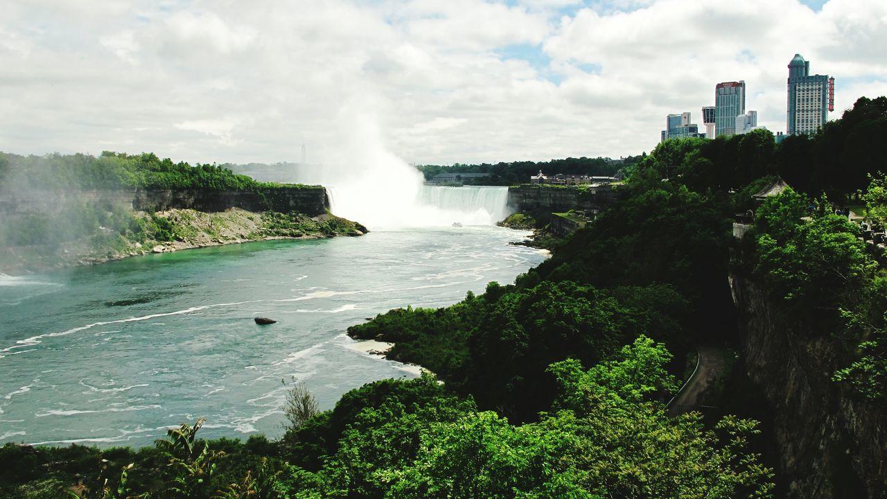 Beautiful stock photos of niagara falls, Beauty In Nature, Cloud - Sky, Cloudy, Day