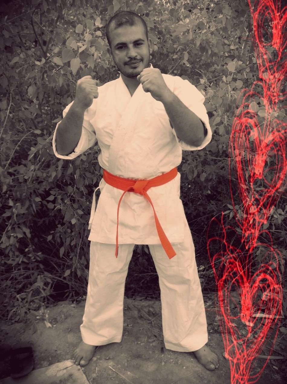 kyokushinkai Hello World That's Me Enjoying Life