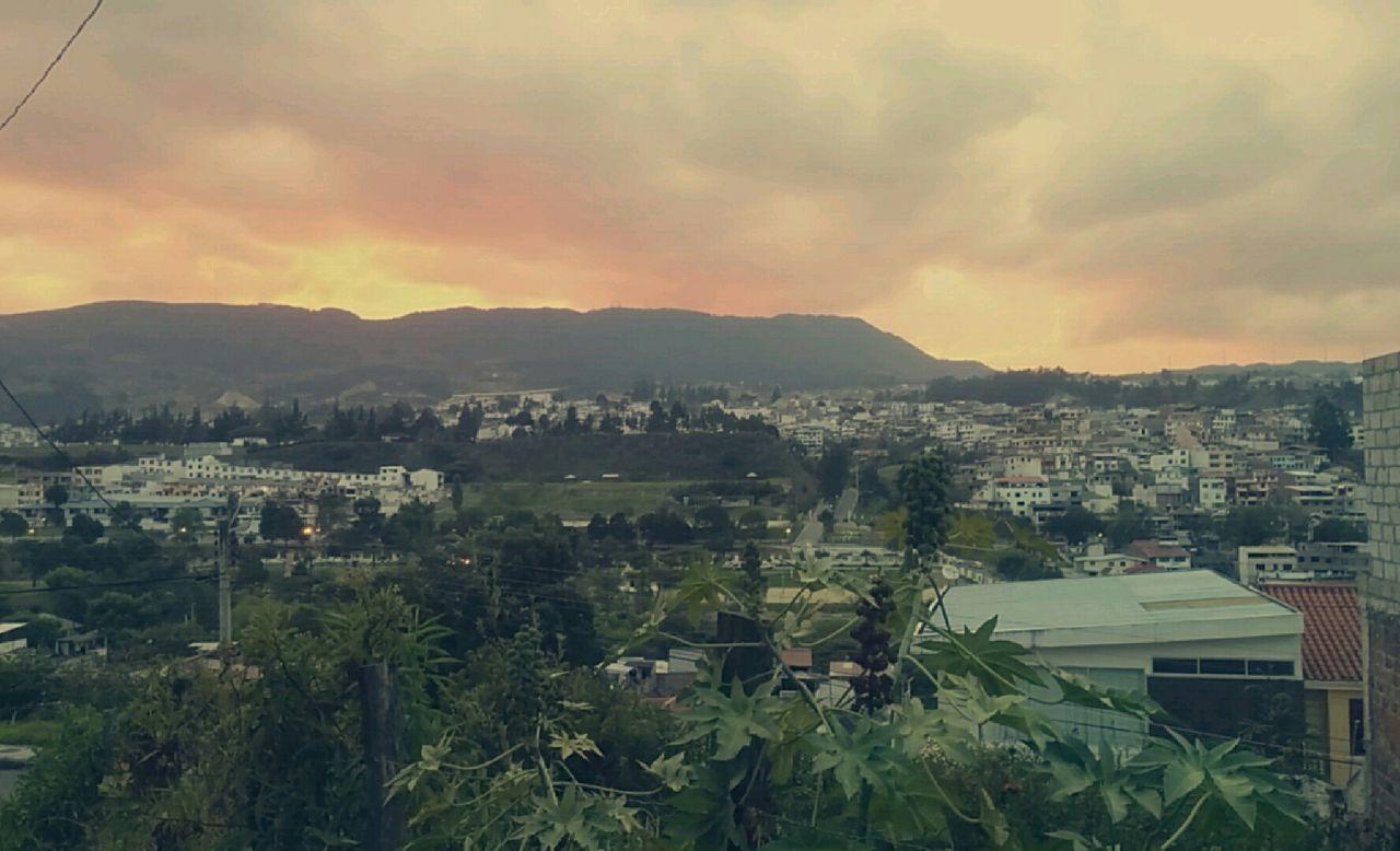 Sky Sunset Loja, Ecuador Mountain