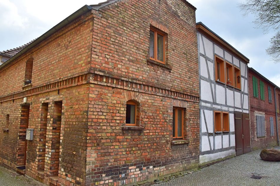 Architecture Brick Building Brick Wall Building Exterior Built Structure Cloud - Sky Day Half-timbered Half-timbered House Historic Historical Building No People Old Old Buildings Outdoors Sky