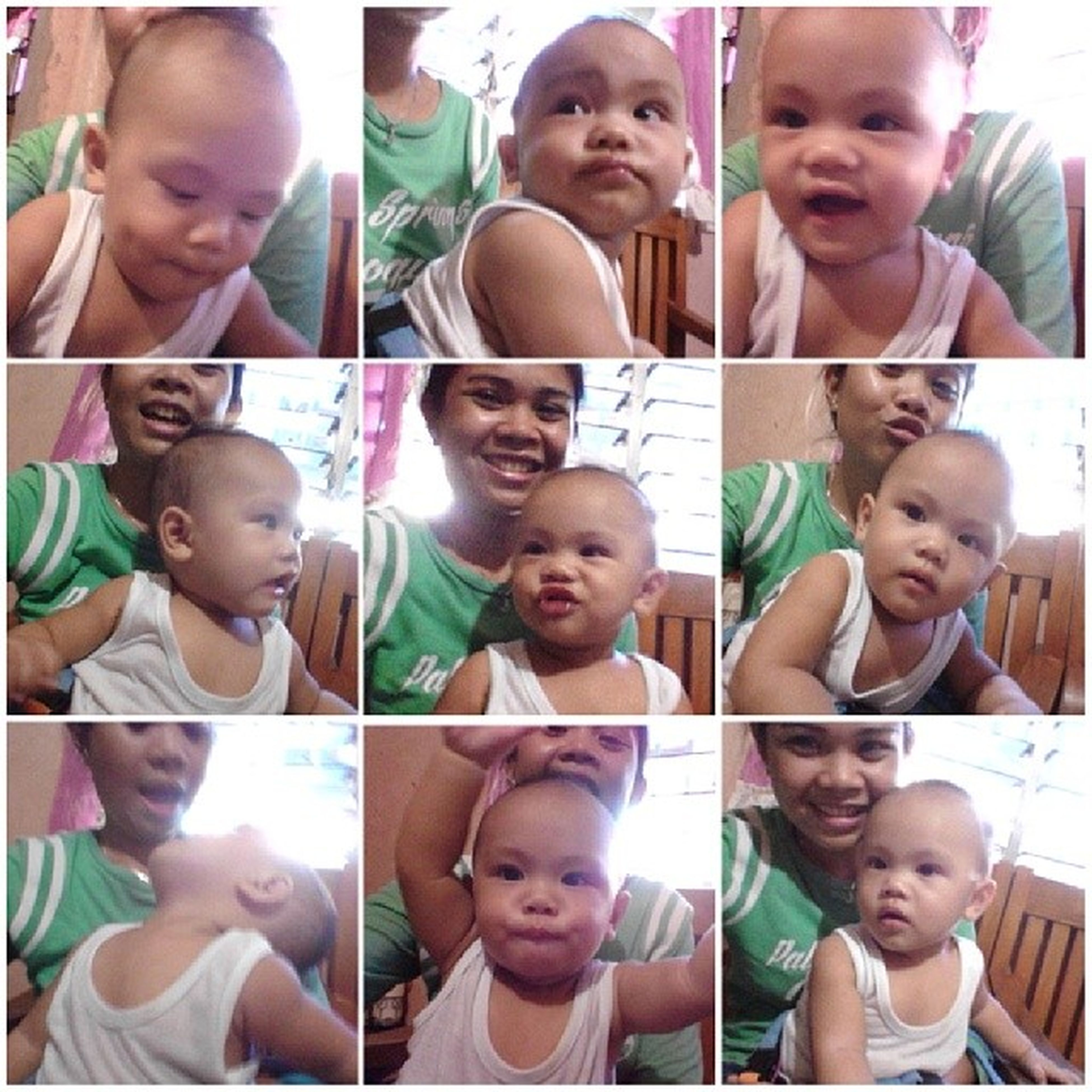 When this cutie patootie is around, he just lightens up my mood. Lami paakon. Always. HappyNinang Happybaby Thoring