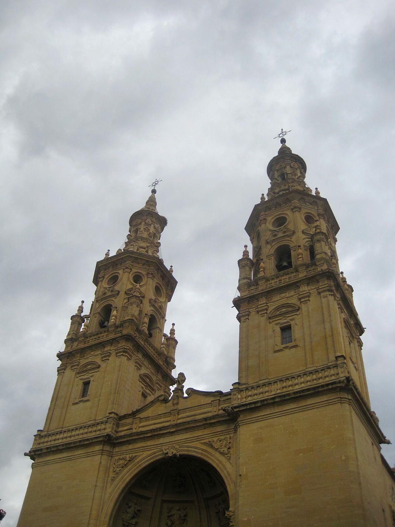 Cathedral of Logroño, CaminodeSantiago, El Camino De Santiago ,