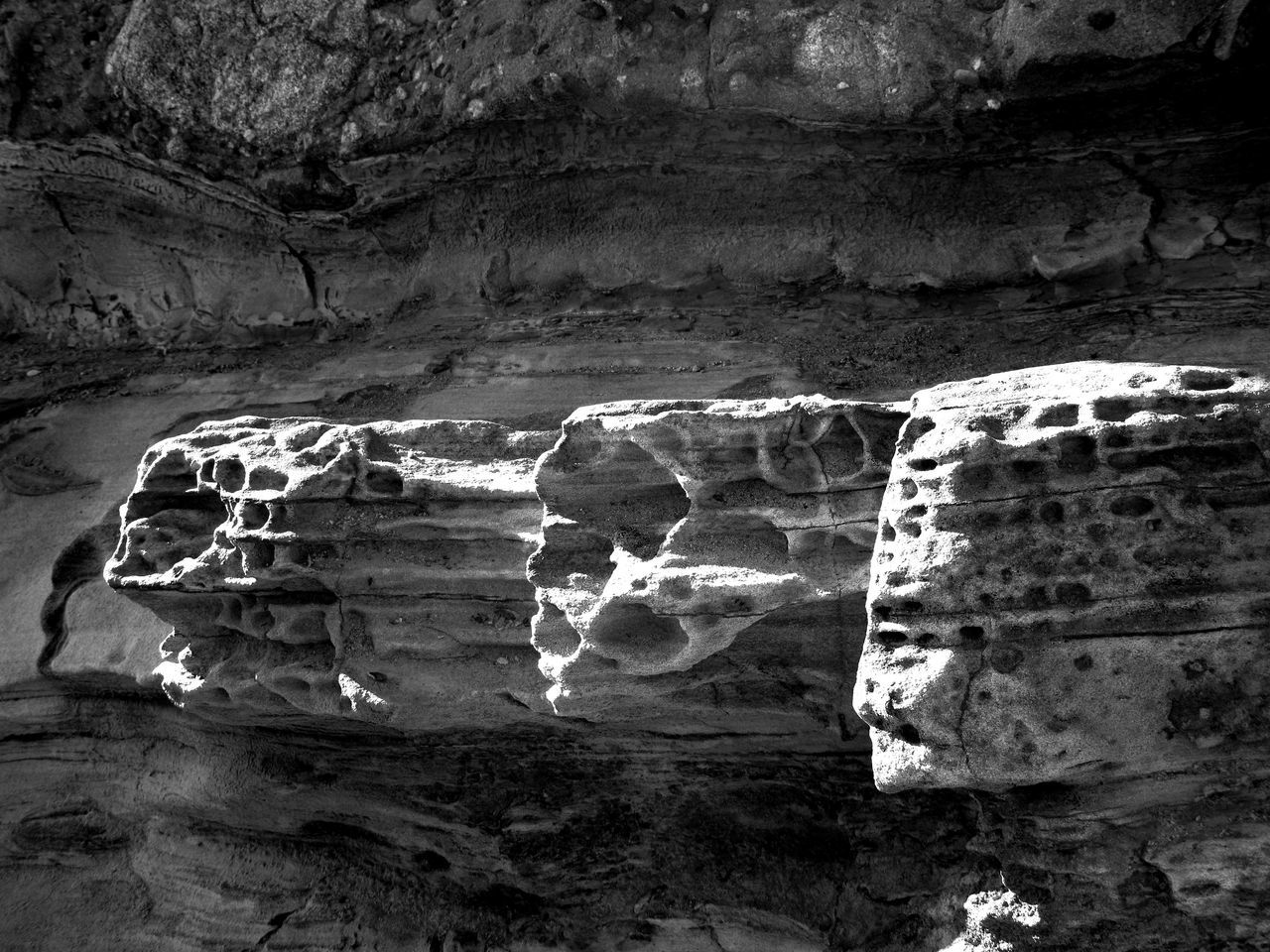 Arid Climate Beauty In Nature Black & White Eroded Geology Idyllic Landscape Natural Pattern Nature Non Urban Scene Outdoors Physical Geography Remote Rock Rock Formation Rock Outcrop Scenics Simple Beauty Tourism Tranquil Scene Tranquility Travel Destinations Unique Beauty Unique Perspectives Unusual Beauty