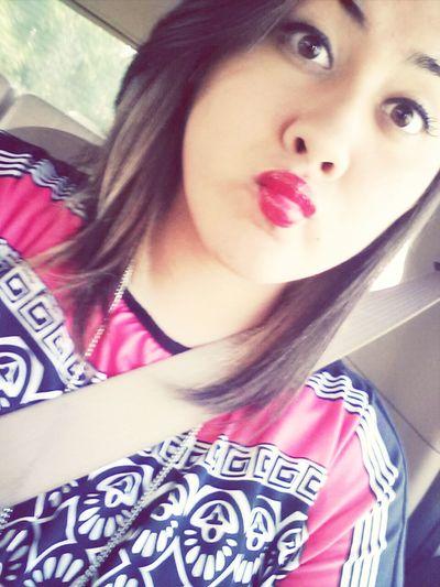 selfiee. Lastsunday Church Redlips Love