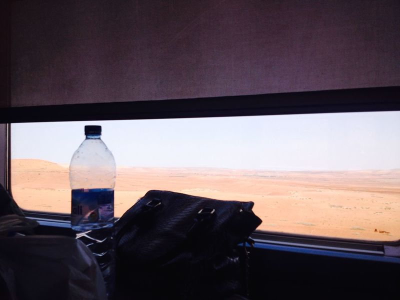 Bottle No People Sky Indoors  Close-up Animal Themes Day Nature Water Mammal Train Desert Morocco red desert Red Desert