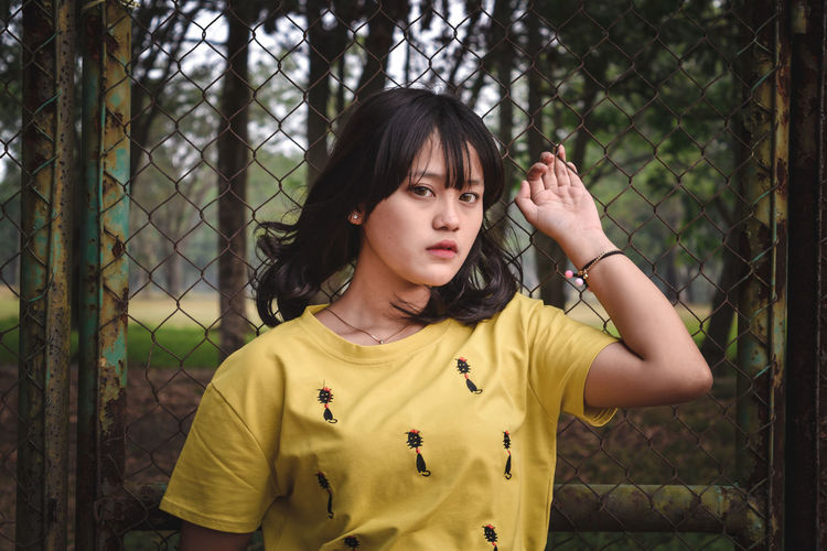 This is a perawan.. One Person Casual Clothing People Only Women Front View One Woman Only One Young Woman Only Portrait Young Adult Adult Day Child Outdoors Close-up