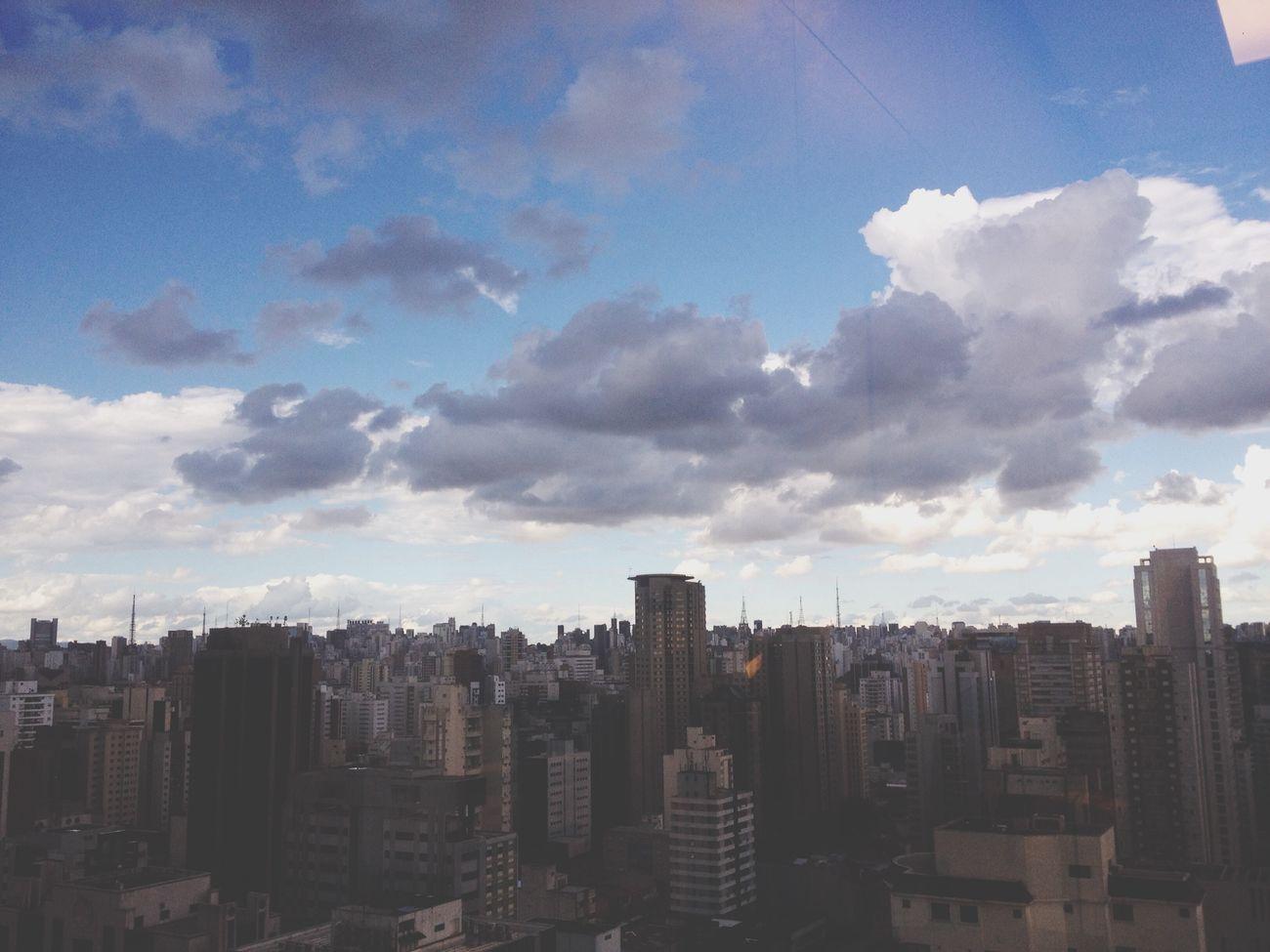 São Paulo Itaim Sky Buildings Cityview