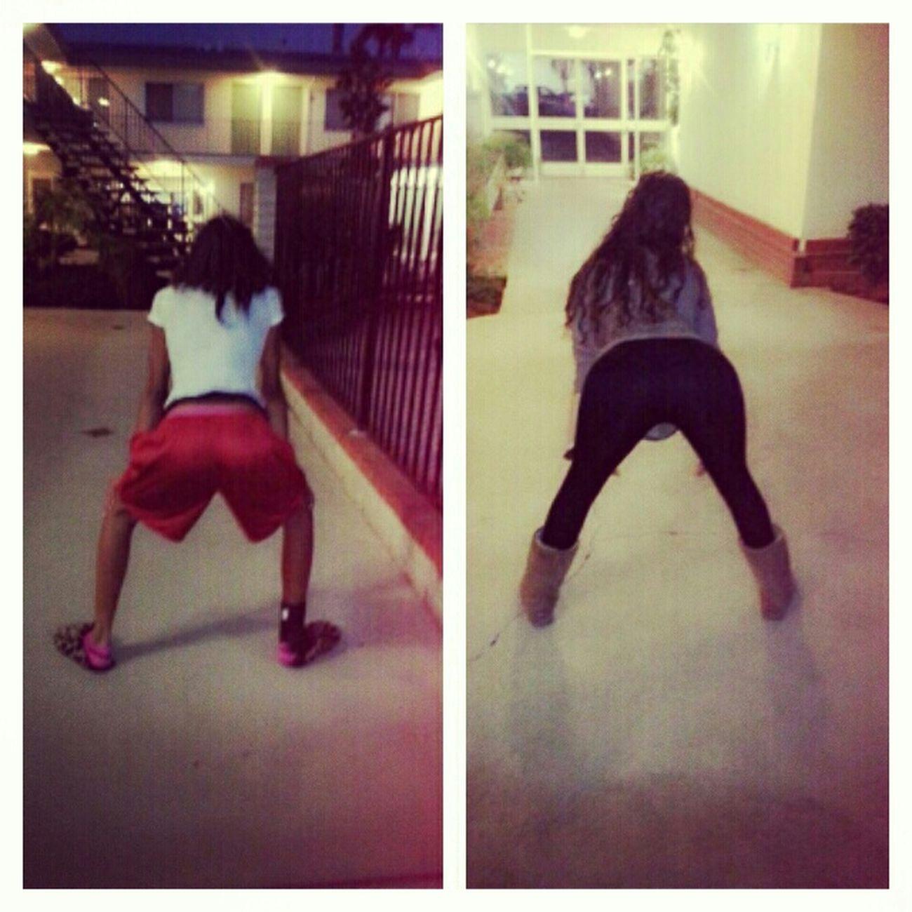 Twerking with my bestfriend haha, how we spend our fridays :P Popular #TwerkTeam Twerk (; Bestfriends✌