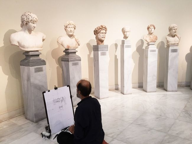 My Favorite Place Statues Museum Athens, Greece Athens Quiet Moments Pieceful History Sketchartist Amazing Art Arthistory