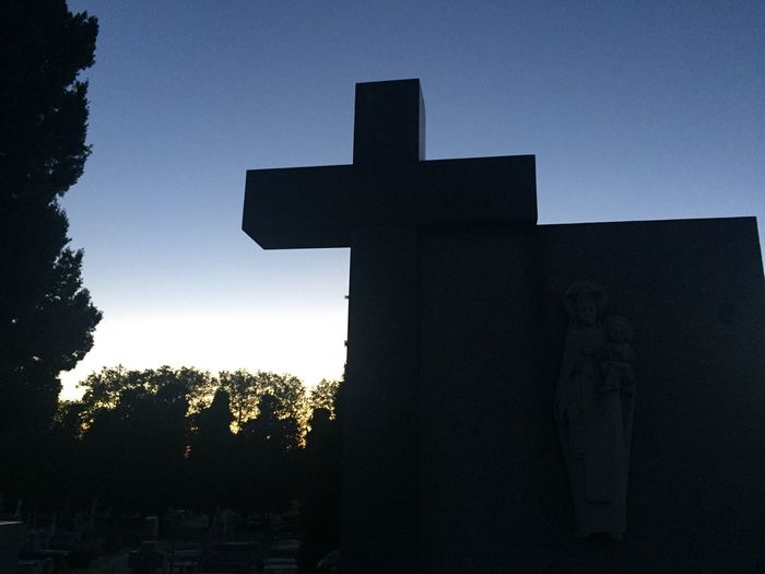 Religion Sky Cemetery Photography Cross Darkness And Light Low Angle View Silhouette Built Structure Tomboftheunknowns Saintsday