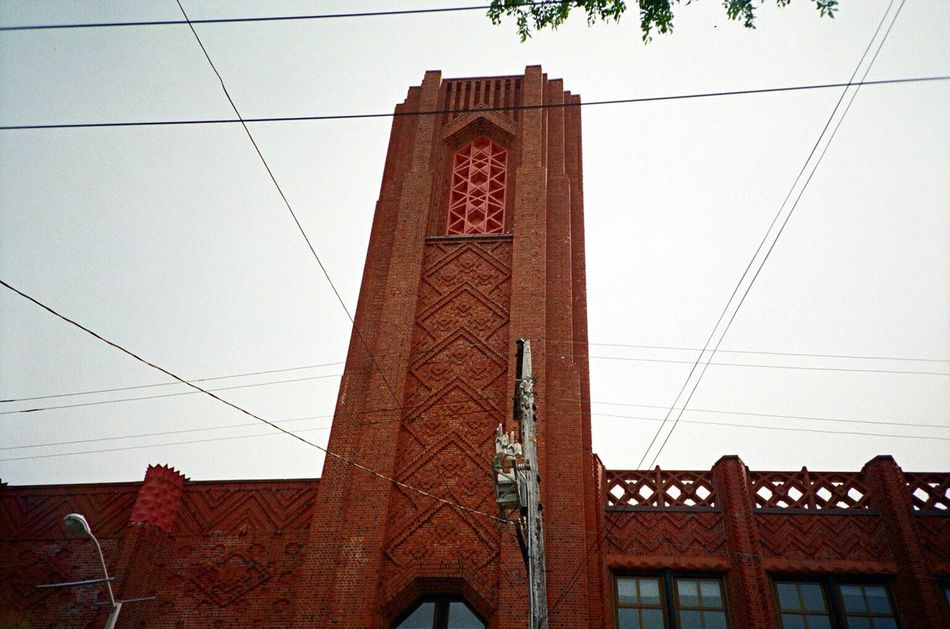 Architecture Low Angle View Building Exterior No People F2/400 LCA+ Film Koduckgirl