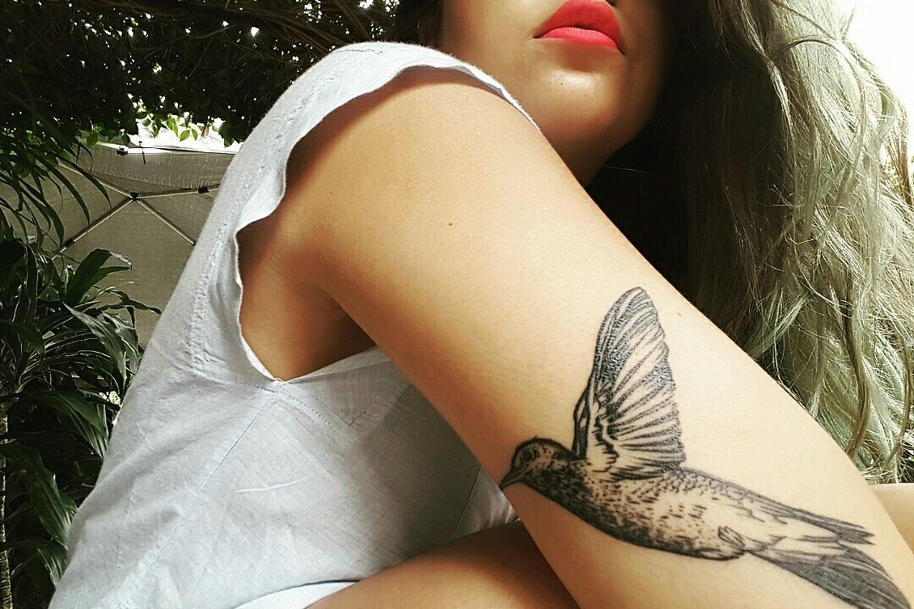 My newest edition. I have one on each arm Tattoo Hummingbird Girlwithtattoos  Hello World OpenEdit Check This Out EyeEm Best Shots Girl Nikon Faces Of EyeEm