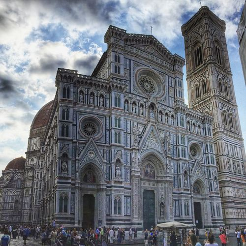Florence Cathedral Florence Italy Wanderlust Hello World Check This Out Travel Photography Traveling Clouds And Sky EyeEm Best Shots Travel