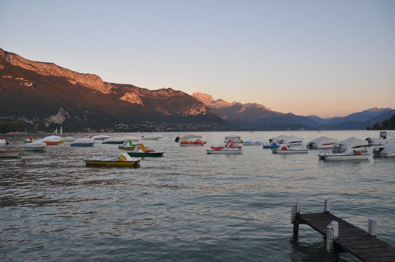 Day Mountain Nature Nautical Vessel No People Outdoors Pedal Boat Sky Transportation Water