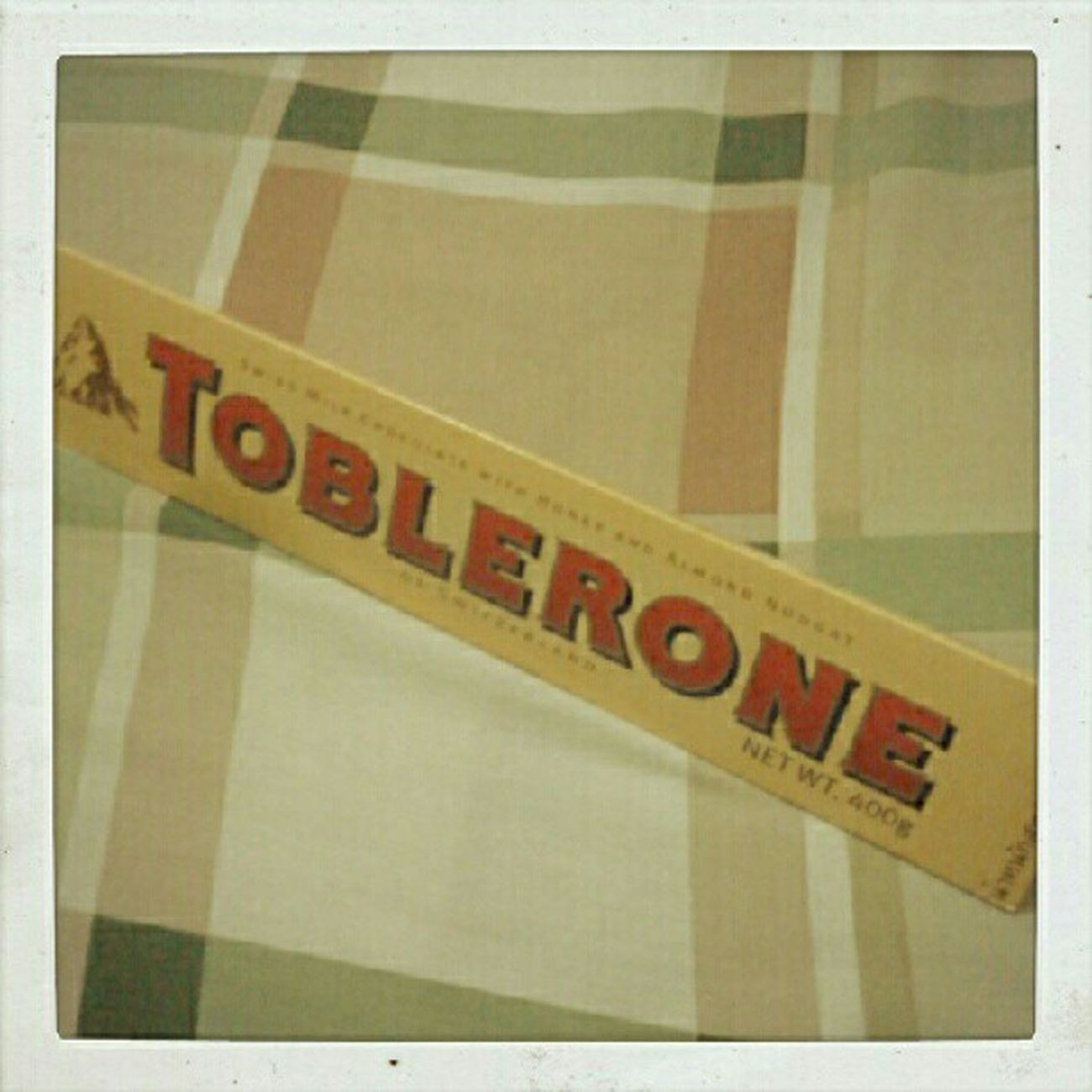 Toblerone! VdayGift :)