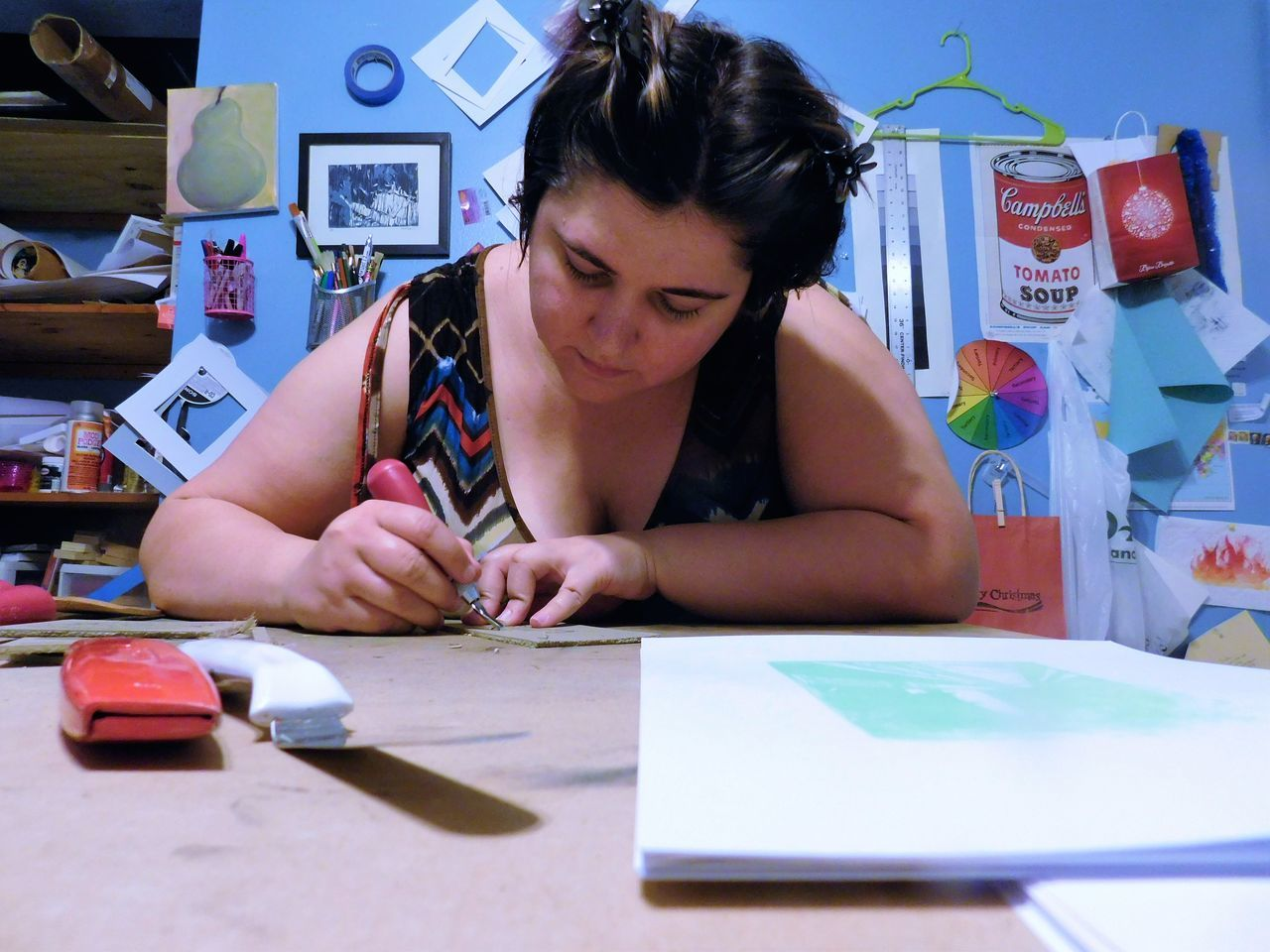 Artist Artist Studio Artistic Expression Creativity EyeEm Colorful ArtWork Art, Drawing, Creativity Art And Craft Artistic TALENTED PEOPLE Talent Young Woman Creating Art Inspiration Wall Design Sketches Wall Of Art Businesswoman Artistic Eye Artist At Work Small Business
