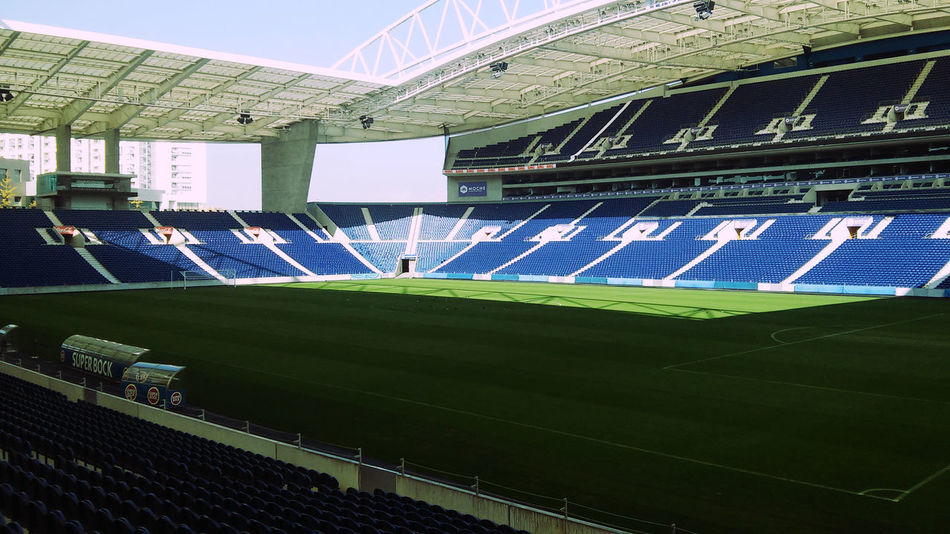 Close Up Day Estadio Do Dragao Fc Porto High Angle View No People Outdoors Porto Portugal Sport Stadium Vamos