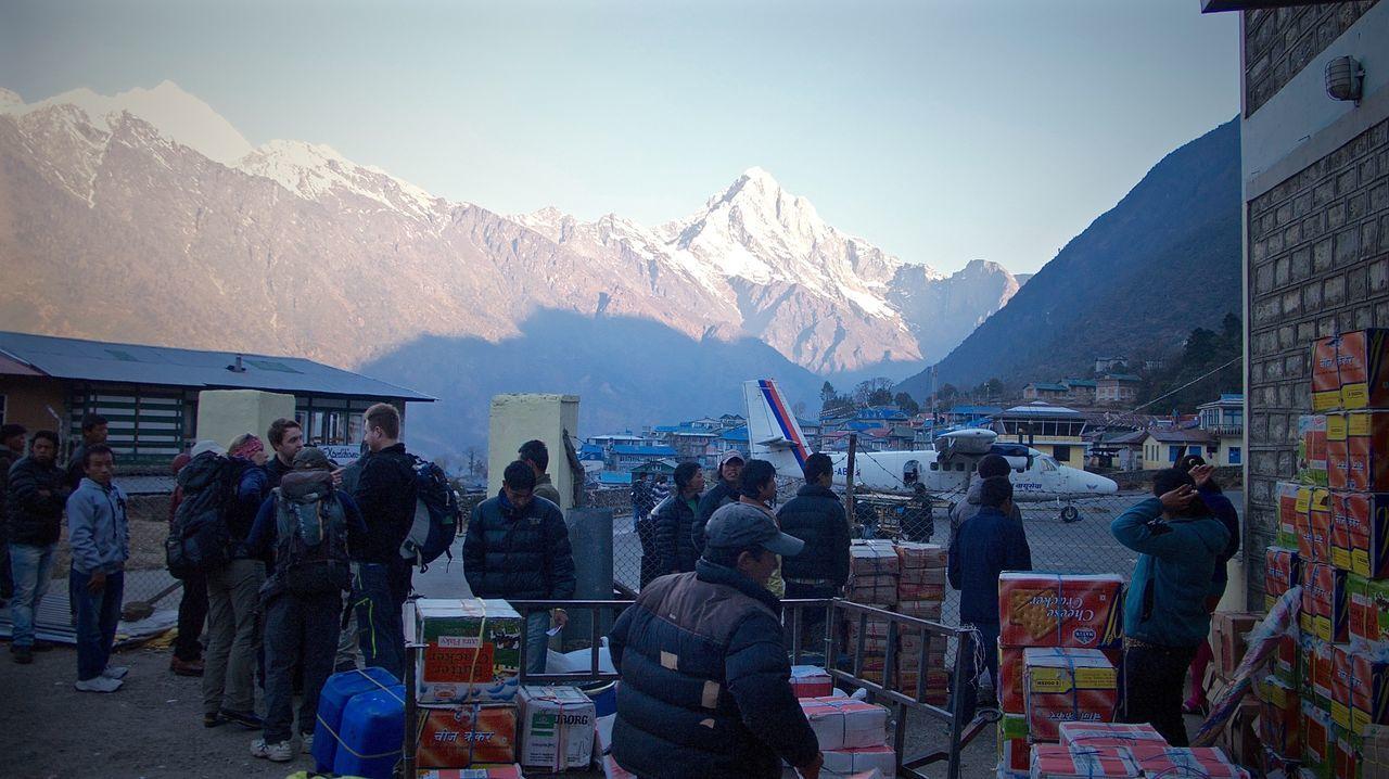 Air Transportation Airport Everest Base Camp Trek Himilayas Leicacamera Lukla Lukla Airport Nepal Transportation