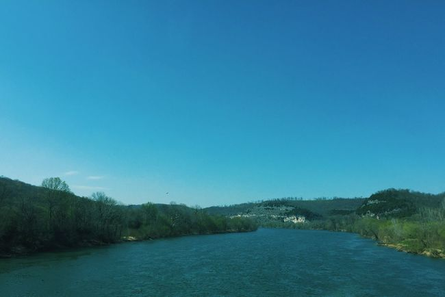Nature Mountains River Sunny