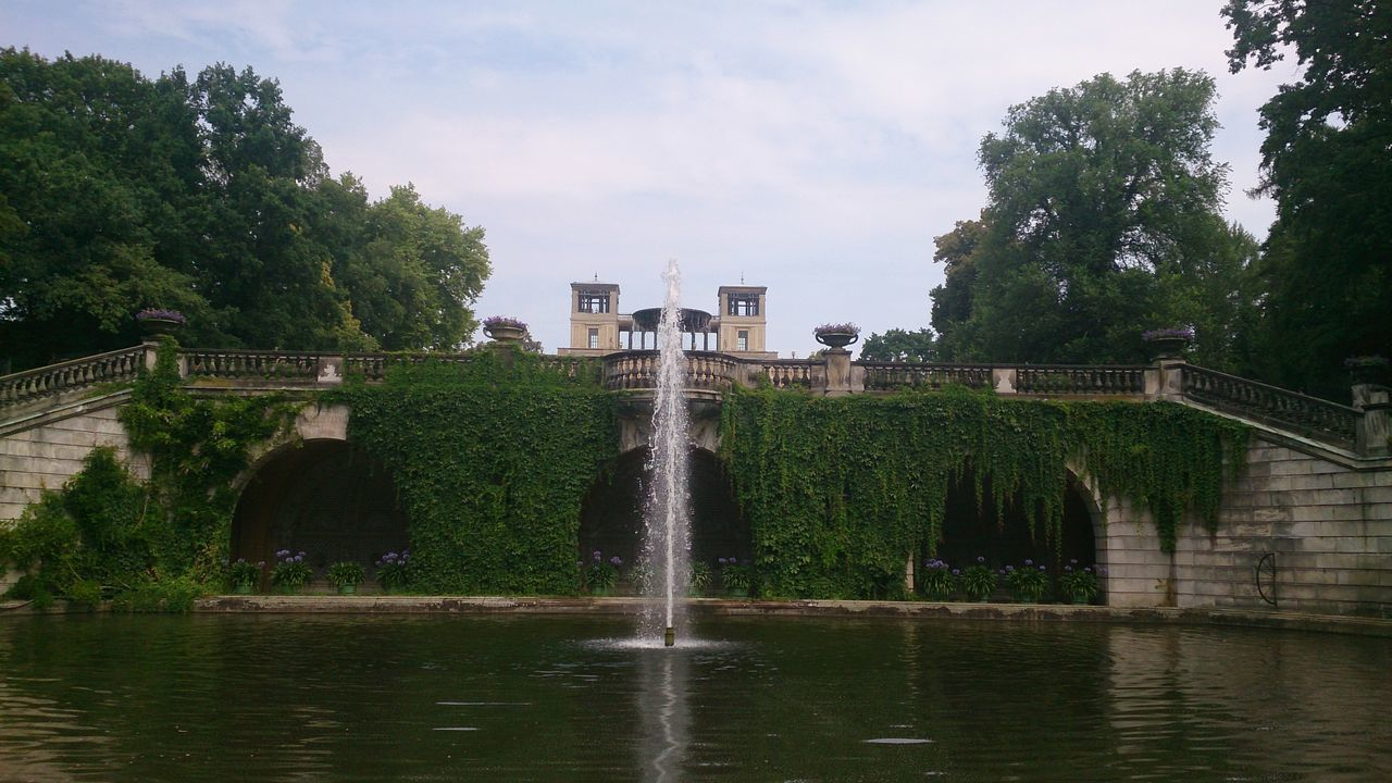 #germany #Potsdam #sansouci_park Architecture Bridge - Man Made Structure Building Exterior Built Structure Cityscape Day Nature No People Outdoors Water Waterfront