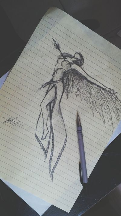 I got bored and did this. :D Graphite drawing sketch