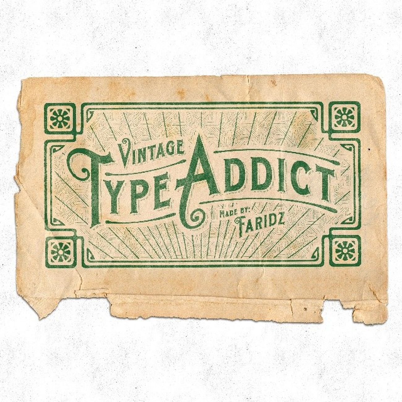 My first try on this kind of approach. Any feedback or comments is very much appreciated. Typography Vintage Vintagetype Typework dailytype dailylettering Lettering letterhead vintagefont typeverything typespire Typework