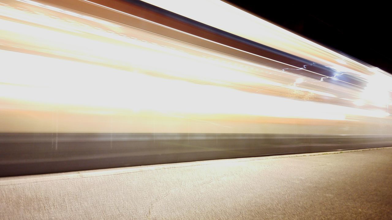 Subway Train Day Illuminated Sunlight Transportation Public Transportation No People Indoors  Lightpainting