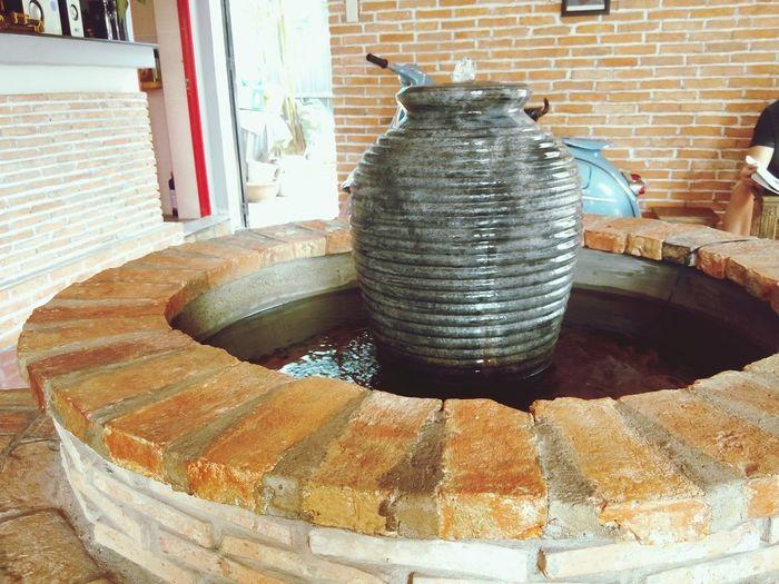 Fountain in Box Coffee. First Eyeem Photo