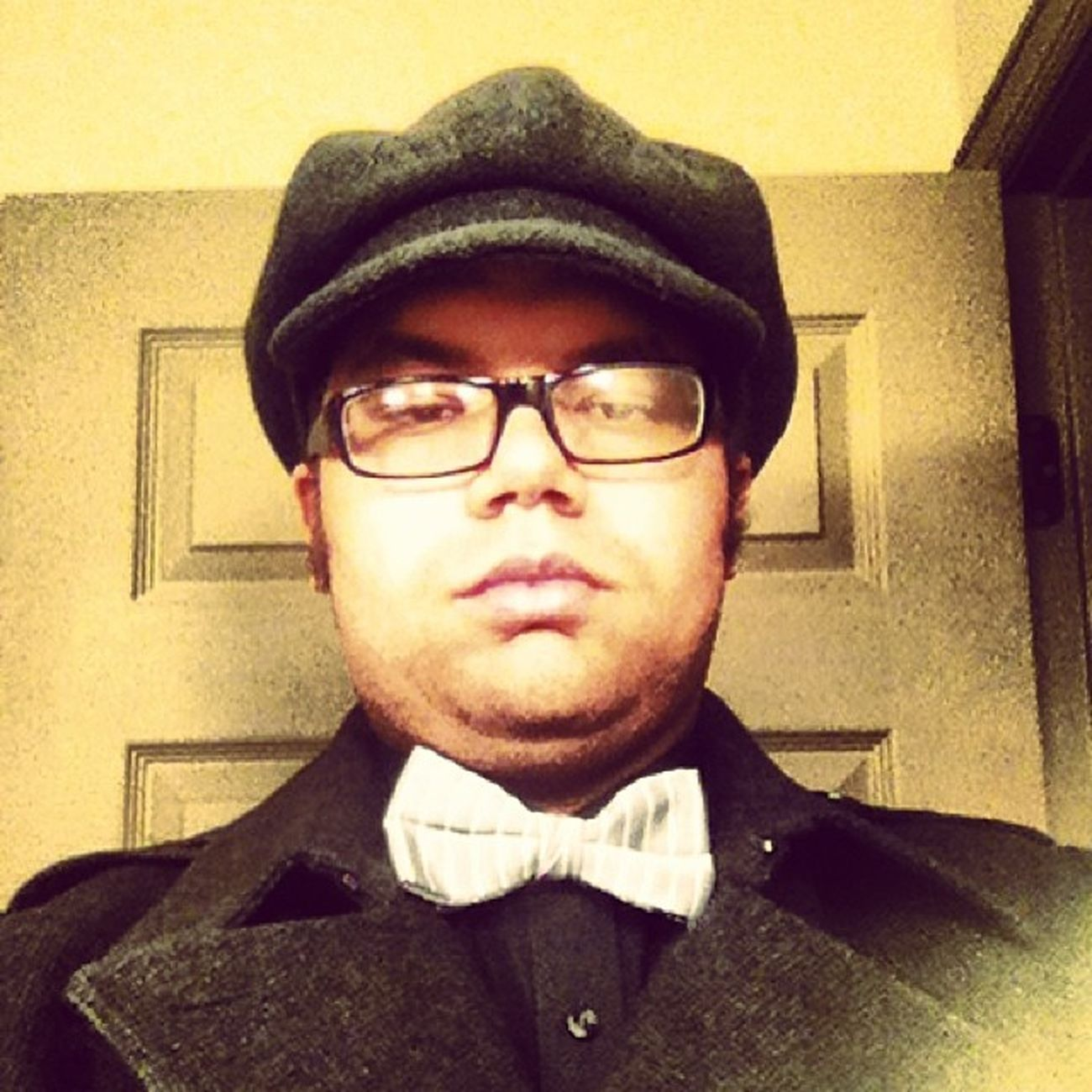 Selfie from Friday night before the Marriage Renewal. Keepingitclassy Instagood Bowtie