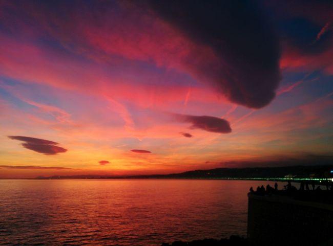 Nice / Nizza Urbanphotography Landscape Sunset Sky And Clouds Landscape_photography EyeEm Gallery Panoramic Landscape