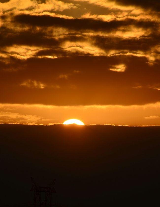 Un pensamiento positivo a la mañana puede cambiar el resto del día...!!! Buenos días!!! Que tengan un excelente fin de semana!!!! Sunsetporn Nature_collection EyeEm Nature Lover Cloudporn