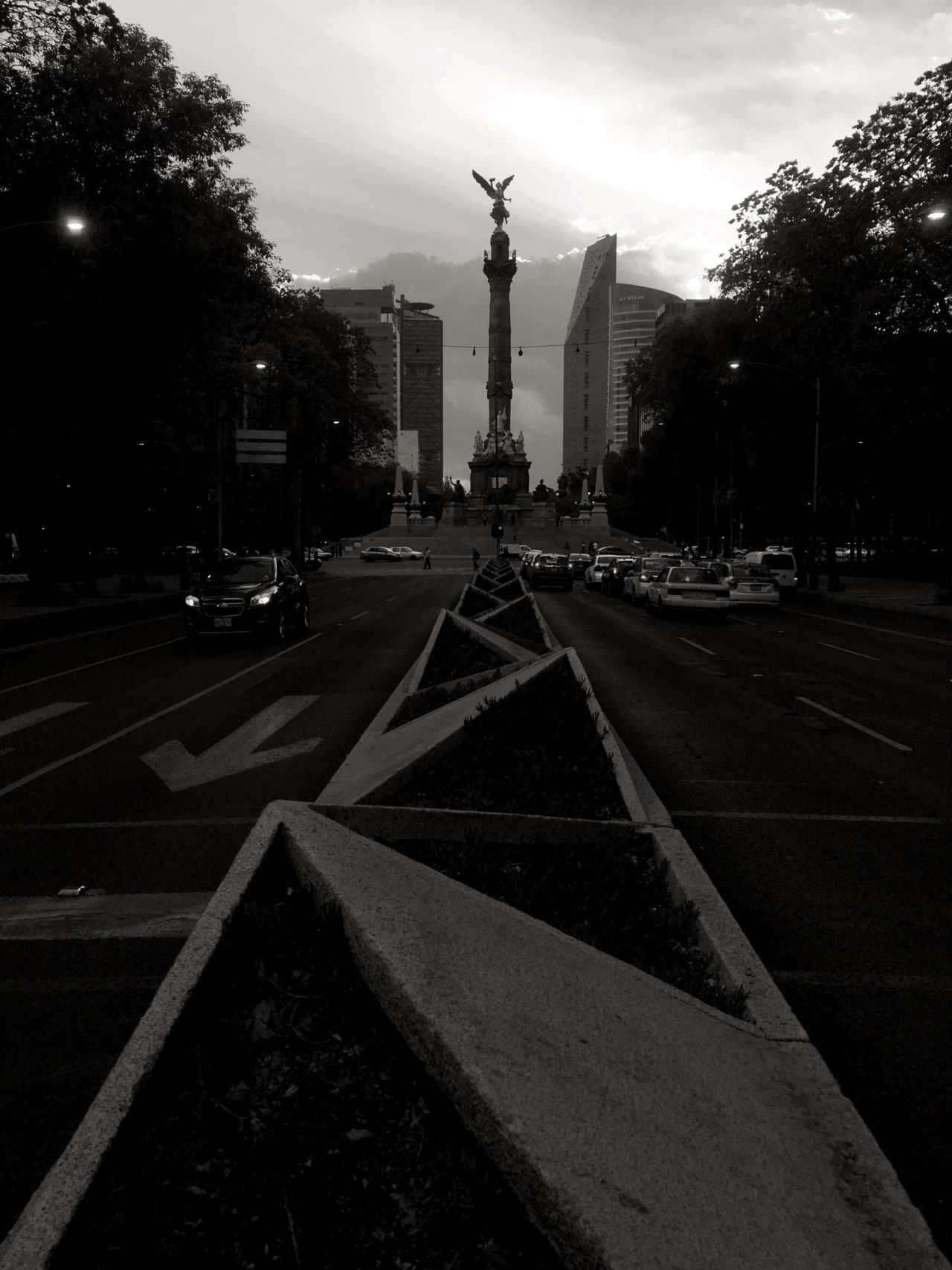 Serie monumentos El angel, Ciudad de México Travel Destinations Architecture City Statue EyeEm Best Shots - Black + White EyeEm Best Shots