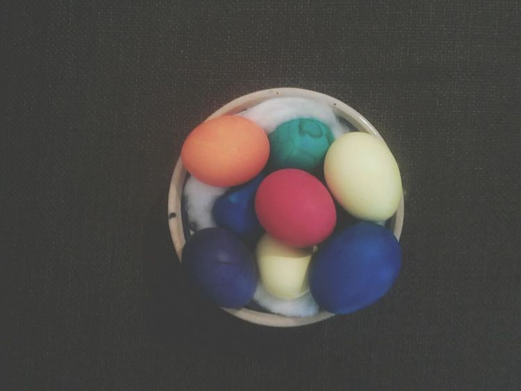 "another tradition for Persian NewYear is coloring eggs... we use them on ""Haft Sin"" which u will introduce later... these are my colored eggs for this year Persian_NewYear Spring Taking Photos"