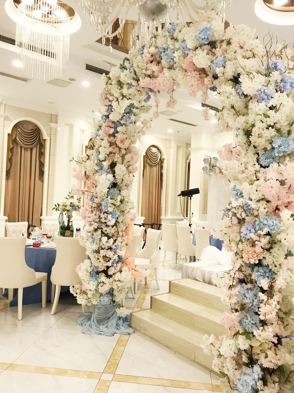 indoors, home interior, luxury, no people, architecture, home showcase interior, multi colored, flower, day